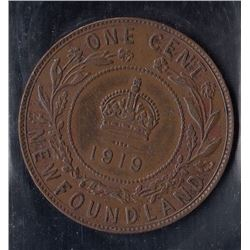 1919C Newfoundland One Cent