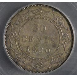 1880 Newfoundland Fifty Cents
