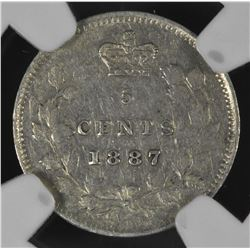 1887 Five Cents