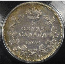 1908 Five Cents