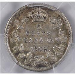 1909 Five Cents