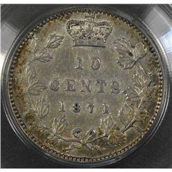 1871 Ten Cents