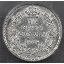 1909 Ten Cents
