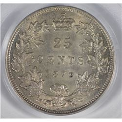 1872H Twenty-Five Cents