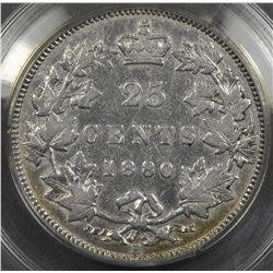 1880H Twenty-Five Cents