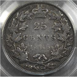 1885 Twenty-Five Cents