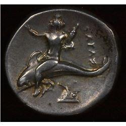 Calabria, Tarentum. 290-281 BC. AR Didrachm(Nomos)