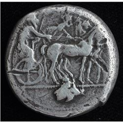 Siciliy, Leontinoi. 475-466 BC. AR Tetradrachm