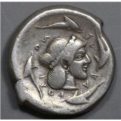 Sicily, Syracuse. 480-475 BC. AR Tetradrachm
