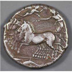 Sicily, Syracuse. 415-405 BC. AR Tetradrachm