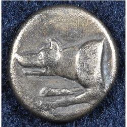 Argolis, Argos. 330-270 BC. AR Triobol