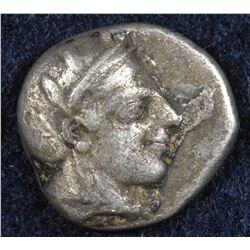 Attica, Athens. 449-413 BC.  AR Drachm