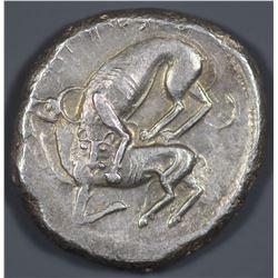 Phoenicia, Byblos. 350-333 BC. AR Dishekel