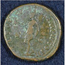 Lucius Verus. 161-169 AD. AE Sestertius