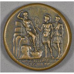 """Lucius Verus. 161-169 AD. AE """"Medallion"""""""