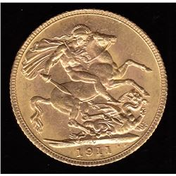 Canadian Sovereign, 1911