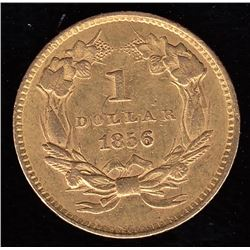 1856 United States of America One Dollar