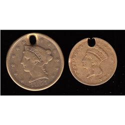 United States of America Gold Coins - Lot of 2