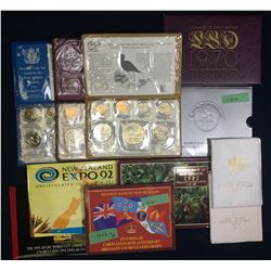 Group of World Mint Sets (11)