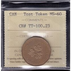 1986 One Dollar Test Token