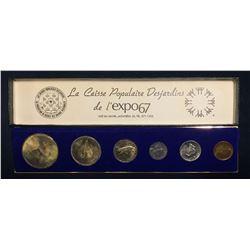 1967 Expo 67 Canada Coin Set