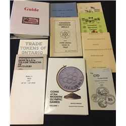 Token & Medal Reference Books - Lot of 11
