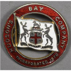 HUDSON'S BAY COMPANY - Enameled Badge
