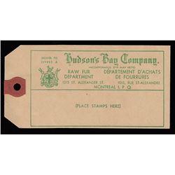 HUDSON'S BAY COMPANY - Tag