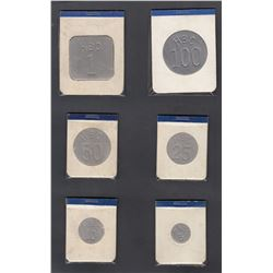 HUDSON'S BAY COMPANY - Eastern Arctic Set of 6 Tokens
