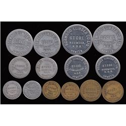 Newfoundland Post Confederation Tokens