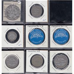 New Brunswick Post Confederation Tokens