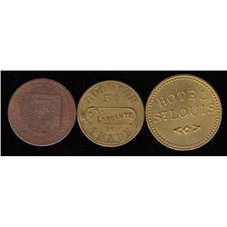 Quebec and Ontario Tokens