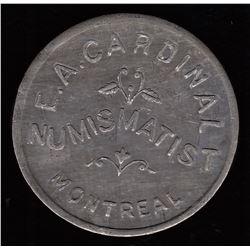 Numismatist Card