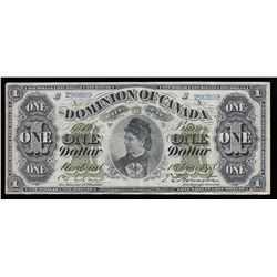 Dominion of Canada $1, 1878 Payable at Montreal