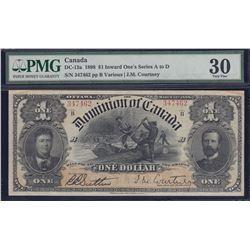 Dominion of Canada $1, 1898