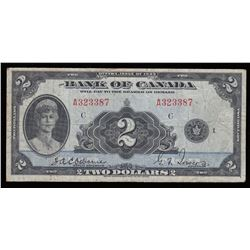 Bank of Canada $2, 1935