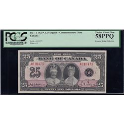 Bank of Canada $25, 1935