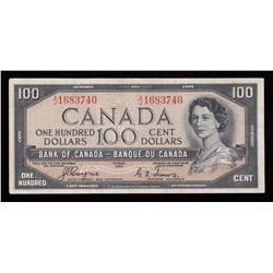 Bank of Canada $100, Devil's Face