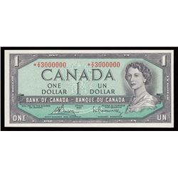 Bank of Canada $1, 1954 Replacement - A Great and Unique Bank of Canada Note!