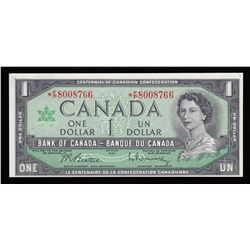 Bank of Canada $1, 1967 Replacement