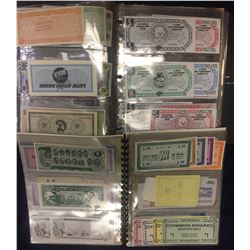 Canadian Merchant Scrip Collection