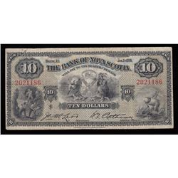 Bank of Nova Scotia $10, 1935