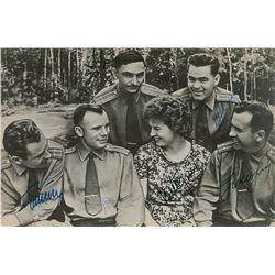 Vostok Cosmonauts Signed Photograph