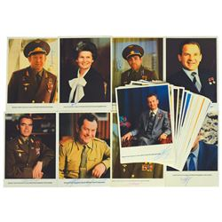 Cosmonaut Collection of (38) Signed Photographs