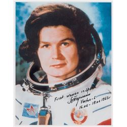Valentina Tereshkova Signed Photograph