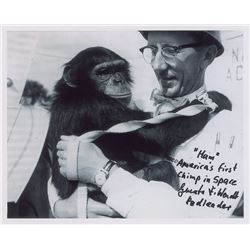 MR-2: Guenter Wendt Signed Photograph