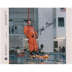 MA-6: John Glenn Pair of Signed Photographs