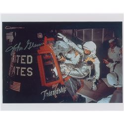 MA-6: John Glenn Signed Photograph and Cover