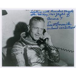 MA-7: Scott Carpenter Signed Photograph