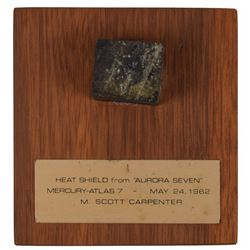 MA-7: Scott Carpenter's Flown Mercury Heat Shield